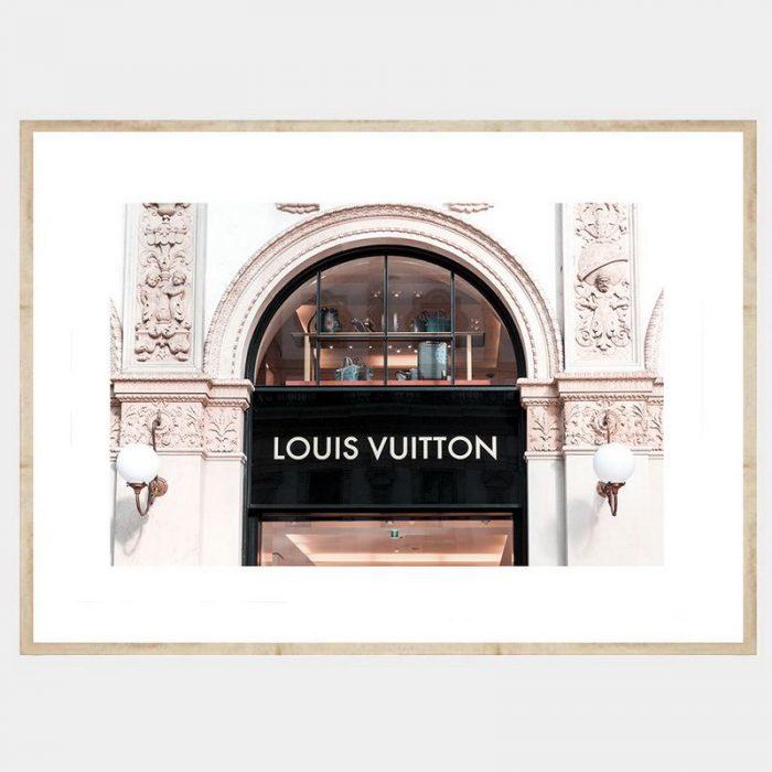 Vuitton Window - Flat Natural