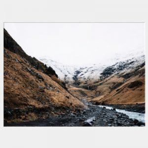 Wallace Gorge Canvas - No Frame