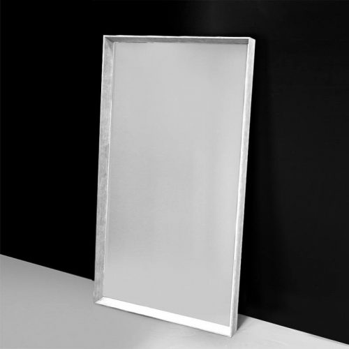 White Arched Mirror - Main