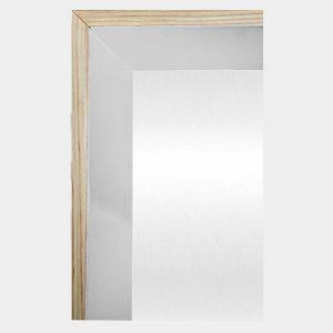 White Hampton Mirror - Corner