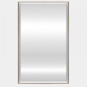 White Hampton Mirror - Front