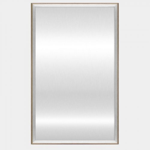 White Hampton Mirror - Front
