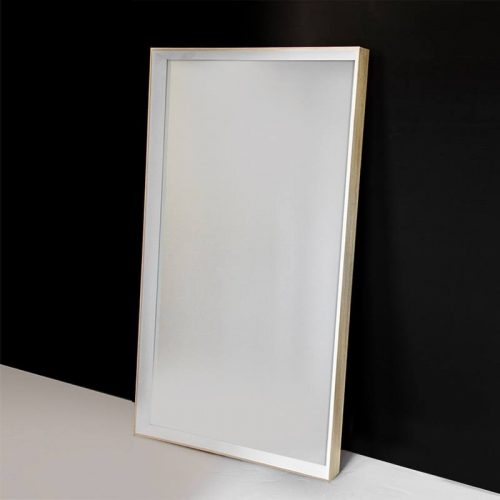 White Hampton Mirror - Main