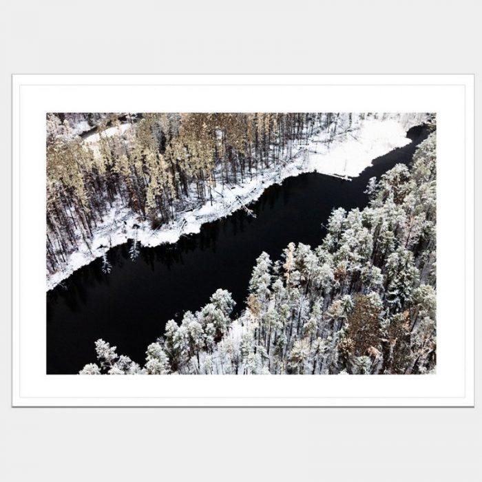 Winter Waters - Flat Matte White