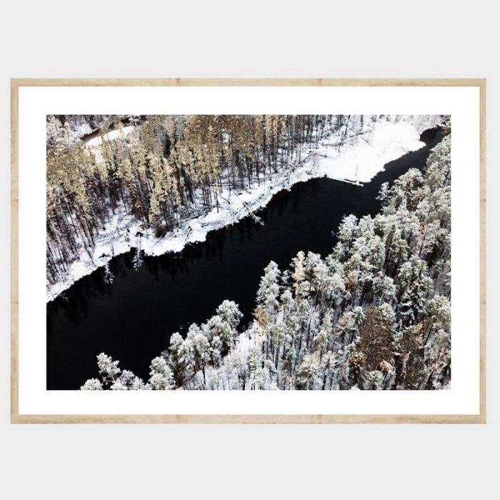 Winter Waters - Flat Natural