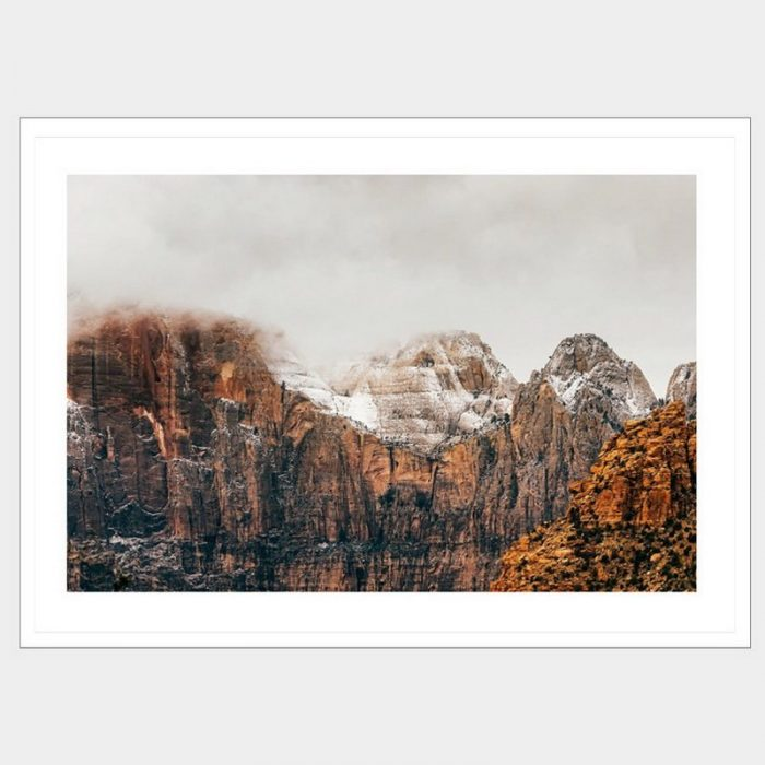 Wisdom Peak - Flat Matte White