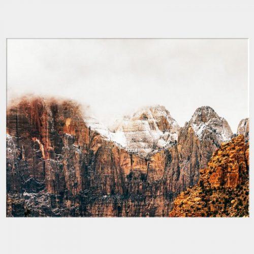 Wisdom Peaks Canvas - No Frame