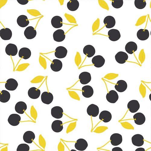 Yellow Cherry Wallpaper